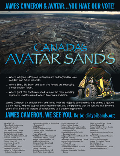 Canada's Avatar Sands